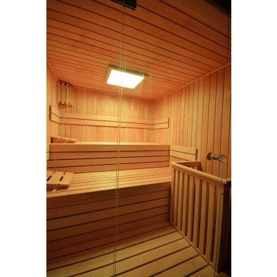 Afbeelding 24 van Azalp Sauna rugleuning Lumen, Elzen