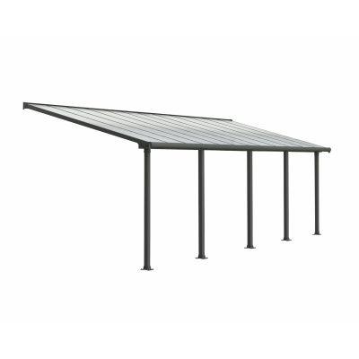 Hoofdafbeelding van Palram Olympia patio cover 3X9.71 grijs