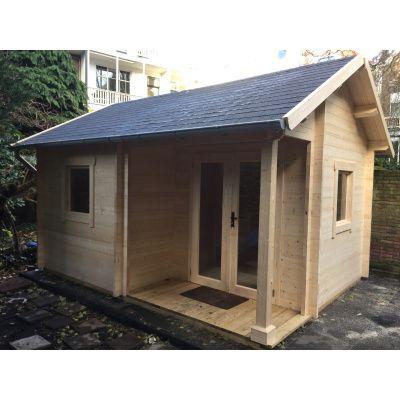 Afbeelding 57 van Azalp CLASSIC blokhut Cottage Style Cumberland 520x430 cm, 45 mm