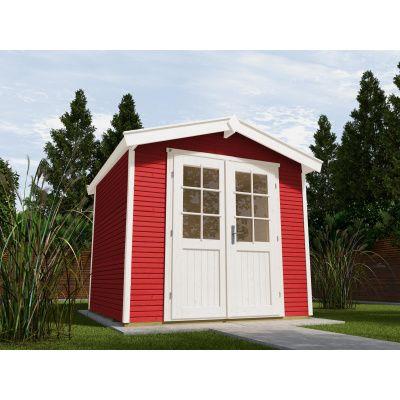 Hoofdafbeelding van Weka Tuinhuis 218 Gr. 4 Zweeds rood