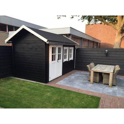 Bild 5 von Azalp Blockhaus Lynn 450x450 cm, 30 mm