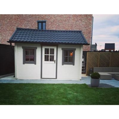 Bild 40 von Azalp Blockhaus Lis 350x250 cm, 45 mm