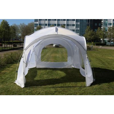 Afbeelding 3 van Orange Outdoor Iglo Dome tent 3.5x3.5m wit