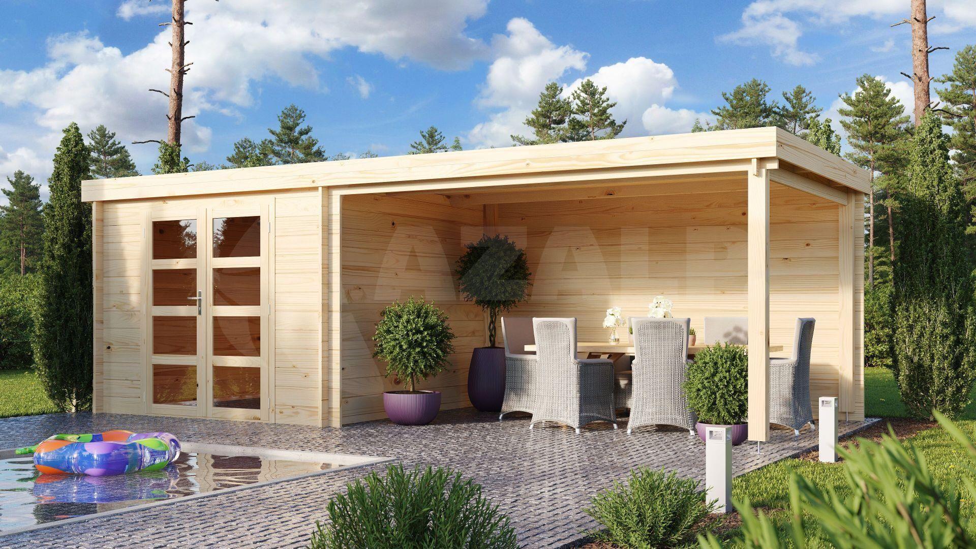 Debro Bourges met veranda 240 cm kopen bij Azalp.nl