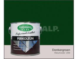 Foto von Koopmans Perkoleum Farbe - Dunkelgrün 206 - 2 -5L Seidenglanz