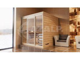 Foto von Azalp Massive Sauna Eva Optic