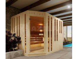 Foto von Azalp Eck-Massive Sauna Nurkka