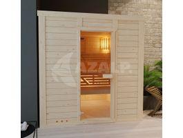 Foto von Azalp Eck-Massive Sauna Modernes