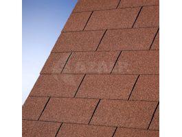 Foto von IKO Dachschindeln rot - 3 m²
