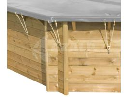 Foto von Procopi Winter- und Sicherheitsabdeckung für Holzbecken Weva Carré 3x3*
