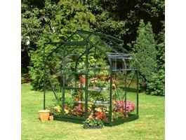 Foto von Royal Well Hobby-Gewächshaus Supreme 46 Grün Beschichtet Sicherheitsglas