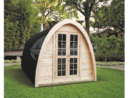 Foto van Interflex Sauna Pod 4m
