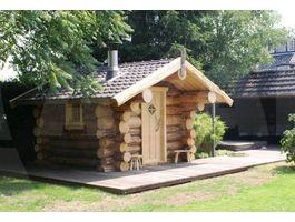Foto von Azalp Rundstamm Bauweise Saunahaus Tija - Log