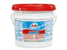 Foto van HTH Chloorshock 10 kg (Calcium Hypochlorite Granulaat)