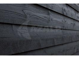 Foto van WoodAcademy Zijwand Kapschuur Vuren 300 cm Zwart (141320)*