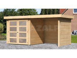 Foto von Woodfeeling Leuven 2 Gartenhaus Mit veranda 240cm