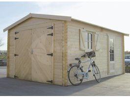Foto von Solid S8944 Holzernes Garage