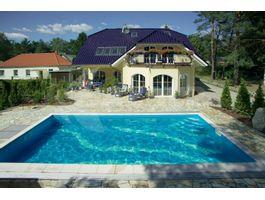 Foto von Trend Pool Beckenrandsteine 600 x 300 weiß (für Rechteckbecken)
