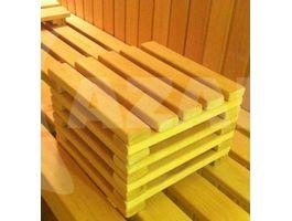 Foto van Azalp Sauna Voethocker elzen 20 cm