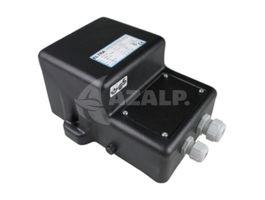 Foto van Azalp zware kwaliteit veiligheidstransformator 2x 100 watt - IP65