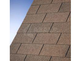 Foto von IKO Dachschindeln braun - 3 m²
