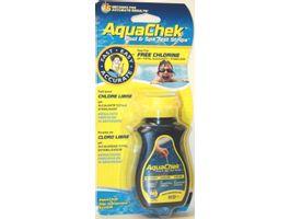 Foto van AquaChek Yellow Pool Spa Test Strips Free Chlorine