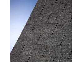 Foto von IKO Dachschindeln schwarz - 3 m²