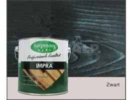 Foto van Koopmans Impra Zwart Hoogglans Transparant 2.5L