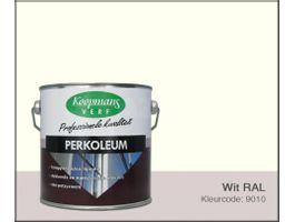 Foto von Koopmans Perkoleum - Weiß RAL 9010 - 2 -5L Seidenglanz