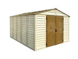 Foto von Duramax Woodbridge 10x13 Kunststoff-Gartenhaus
