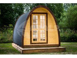 Foto van Interflex Blokhut Camping Pod