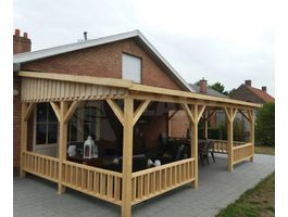 Foto van Azalp Houten veranda