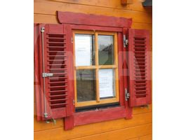 Foto von Azalp Fensterläden 120x94 cm - Lamellen*