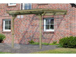 Foto von Karibu 64628 Eco Model 3 grote A Hölzernes Terrassenüberdachung - Hochdruck Imprägniert