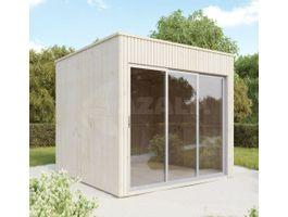 Foto von SmartShed Cube Novia Hölzernes Gartenhaus