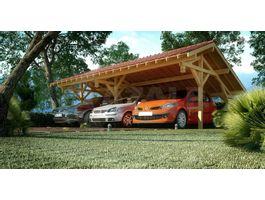 Foto von Azalp Royal Class Holzern Carport Varik