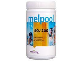 Foto van Melpool 90-200 grote Chloortabletten - 1 kg