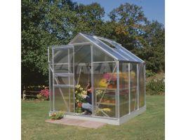 Foto von Royal Well Hobby-Gewächshaus Popular 66 polycarbonaat