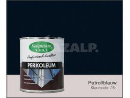 Foto van Koopmans Perkoleum Petrolblauw Hoogglans Transparant 2.5L
