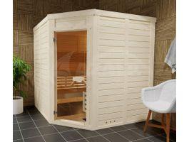 Foto von Azalp Eck-Massive Sauna Genio