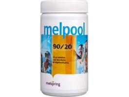 Foto van Melpool 90-20 kleine Chloortabletten - 1 kg