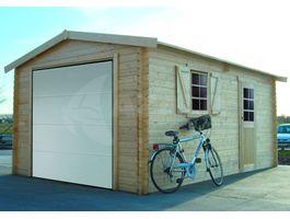 Foto von Solid S8946 Holzernes Garage