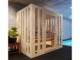 Foto van Azalp massieve sauna Alku