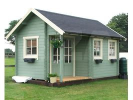 Foto von Azalp Blockhütte Cottage Style Kinross