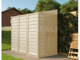 Foto von Duramax Kunststoff-Gartenhaus Sidemate 4x8