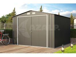 Foto von Duramax ECO Metall-Gartenhaus 10x10 - Anthrazit