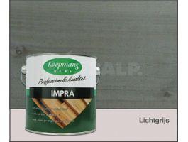 Foto van Koopmans Impra Lichtgrijs Hoogglans Transparant 2.5L