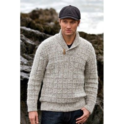 Foto van Fisherman out of Ireland Marble Shawl Collar