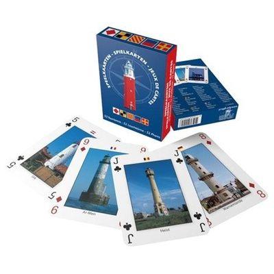 Foto van Speelkaarten vuurtorens