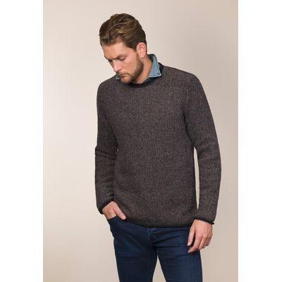 Foto van Fisherman out of Ireland Seed Stitch Roll Neck